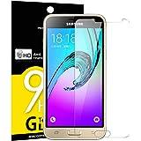 Vetro Temperato Samsung Galaxy J3, Pellicola Protettiva NEW'C® in Vetro Temperato Screen Protector Film Ultra Resistente (0,33mm HD Alta trasparente) - Antigraffio - SENZA BOLLE D'ARIA - ULTRA RESISTENTE - 9H durezza e installazione Bubble-Free Facile per Samsung Galaxy J3