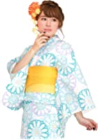 df6082461d1e81 ... 半幅帯+下駄] 3点セット. 5つ星のうち 4.0 12. ¥ 4,980. 20タイプから浴衣が選べる福袋 浴衣 女 ...