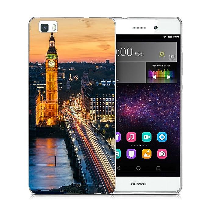 Wouier Carcasa Funda para Huawei P8 Lite (2015) Gel TPU Silicona Flexible Transparente Ultra Slim Protective Case Cover Skin para Huawei P8 Lite ...