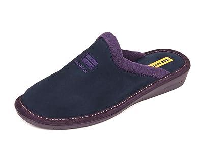 Zapatillas Nordikas Mujer, Azul marino, 41 EU: Amazon.es: Zapatos y complementos