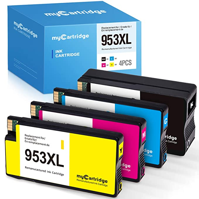 MyCartridge Compatible HP 953 XL 953XL Cartuchos de Tinta para ...
