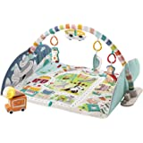 Fisher Price/Mattel Canada Fisher-Price Activity City Gym to Jumbo Playmat, Infant to Toddler Activity Gym with Music, Lights