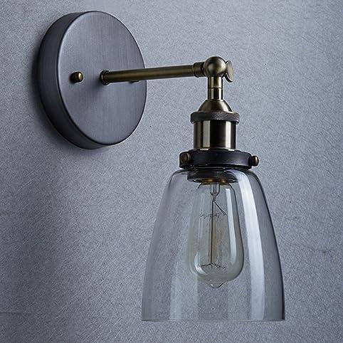 Lightess Applique Murale Interieur Vintage Edison Lampe Murale ...
