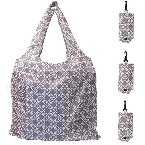 Amazon.com: HOLYLUCK kit de 3 bolsas de compras ...