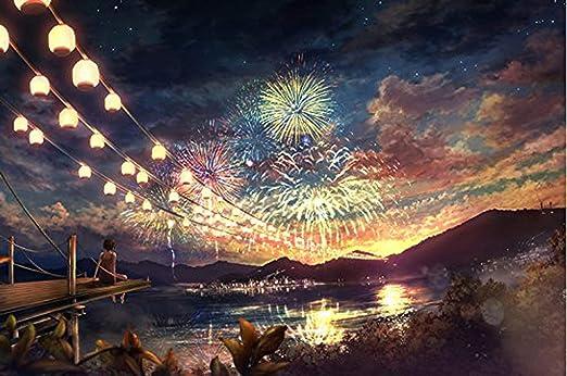 A 1,000 Piece Fireworks Jigsaw Puzzle
