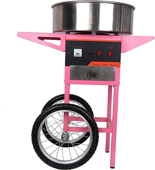 TryESeller Máquina eléctrica de Caramelo de algodón 1300W con ...