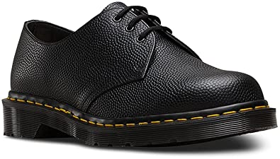Dr. Martens 1461 3-Eye Shoe, Black Pebble, UK 8 M