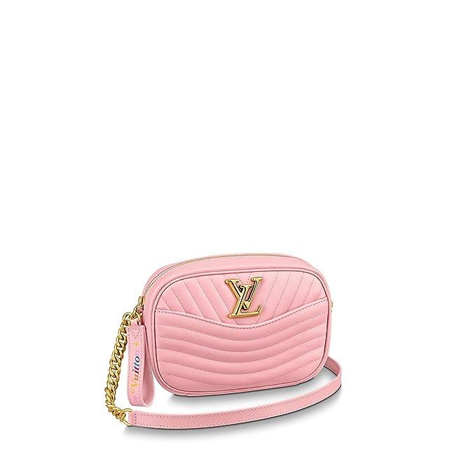 e1942450090 Louis Vuitton New Wave Camera Bag (Bleu Néon): Handbags: Amazon.com