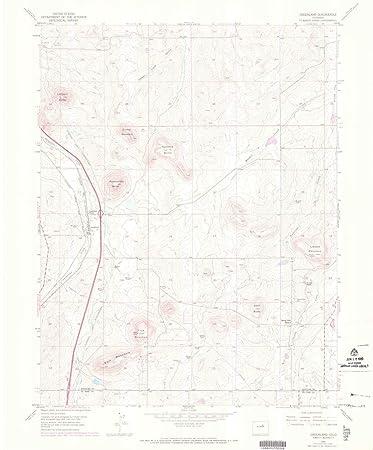Amazon.com : YellowMaps Greenland CO topo map, 1:24000 Scale, 7.5 X ...