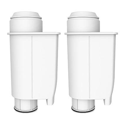 AquaCrest 2 x AQK-02 Reemplazo del Filtro de Agua para máquinas de café -