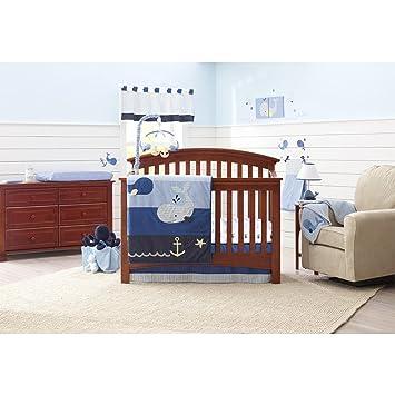Nautical Baby Bedding Sets.Amazon Com Nautica Kids Brody Nursery Bedding Collection