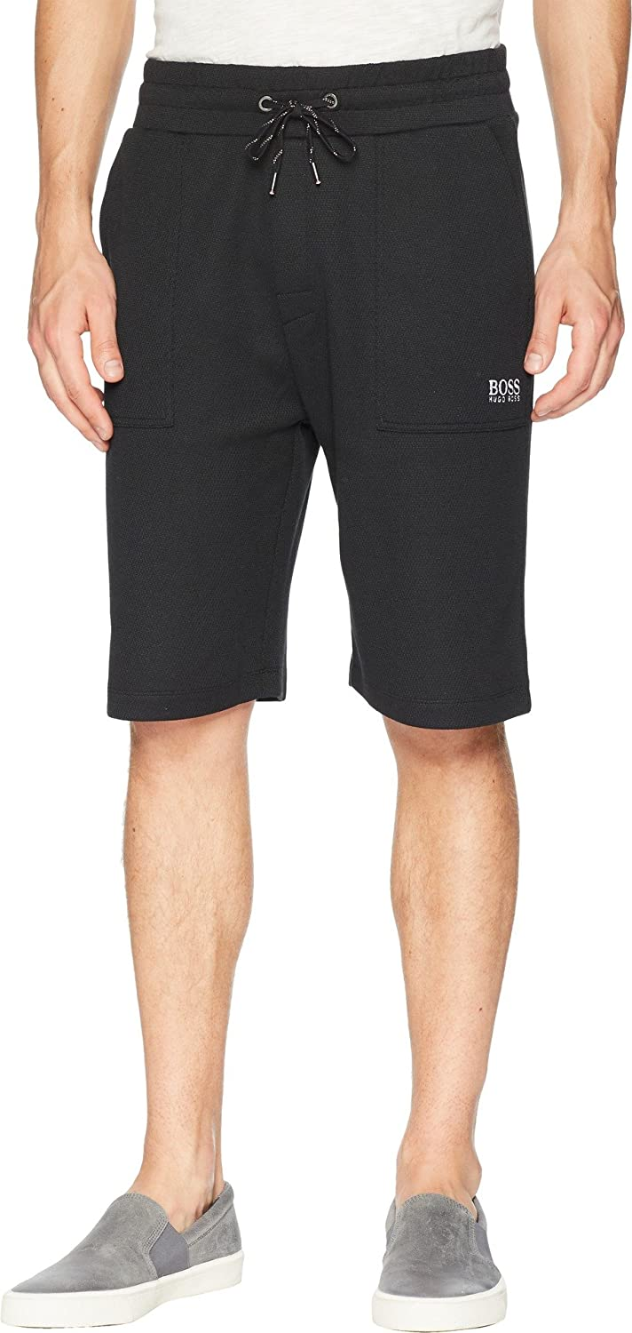 505c0a6a Hugo Boss BOSS Men's Contemporary Shorts Black Medium at Amazon Men's  Clothing store: