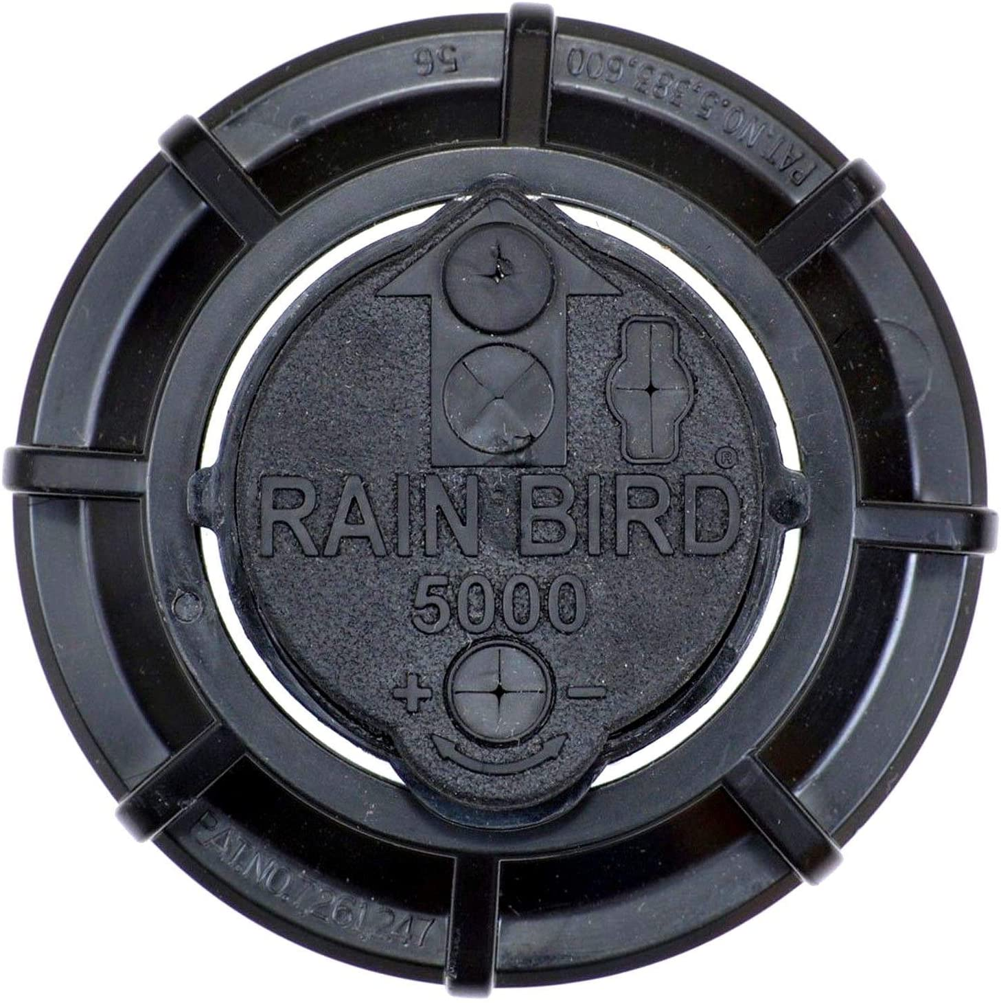 Rain-bird 5000 Series Rotor Sprinkler Head – 5004 PC Model, Adjustable 40-360 Degree Part-Circle, 4 Inch Pop-Up Lawn Sprayer Irrigation System – 25 to 50 Feet Water Spray Distance Y54007 2 Pack