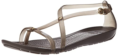 bc48e9be94da4 crocs Really Sexi Women Sandal in Brown  Buy Online at Low Prices in India  - Amazon.in
