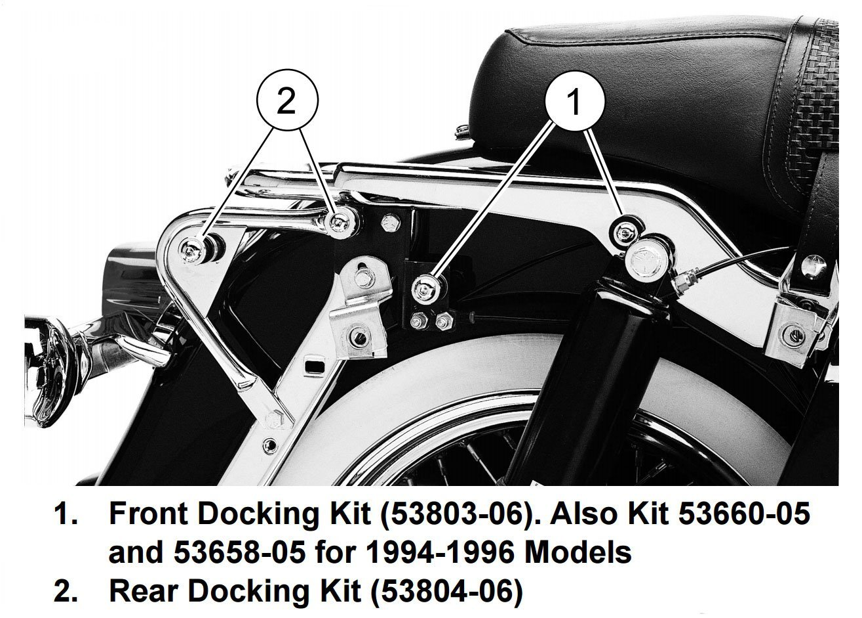 Detachables Docking Hardware Kits For Harley Davidson Rear Fender Wiring Harness Touring Road King Glide Street Electra 1997 2008 Everything Else