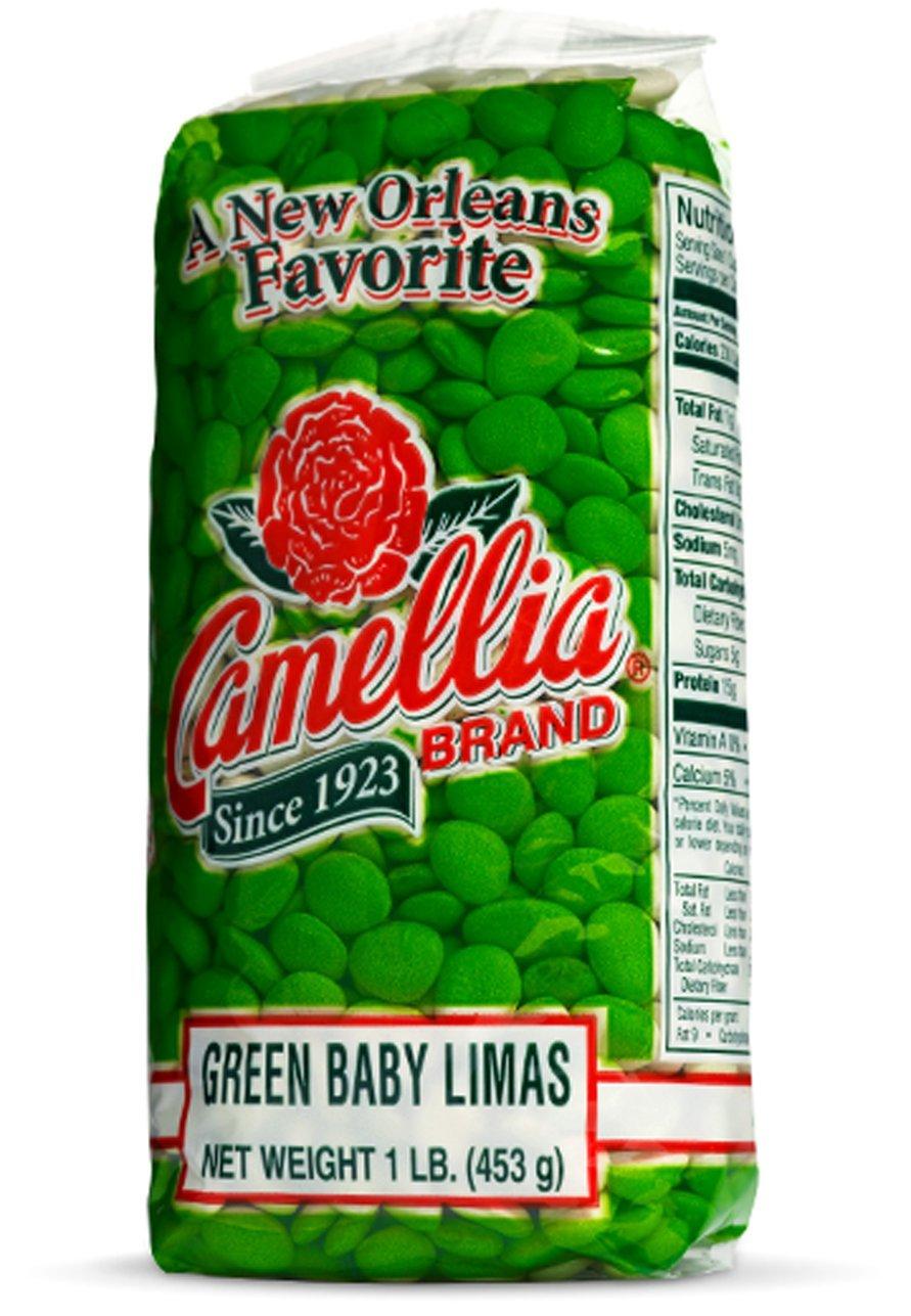 CAMELLIAS Green Baby Limas, 16 OZ