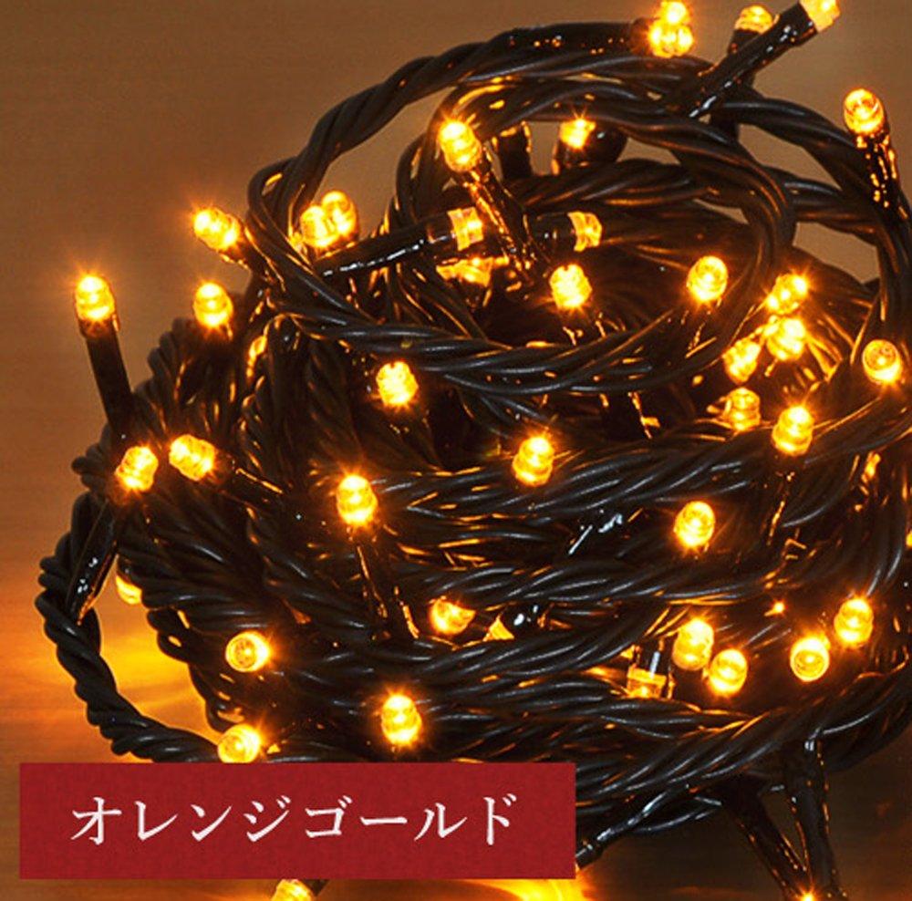 iimono117 高輝度 LED イルミネーション リモコン付き [ 6m 100球 ~ 120m 2000球 まで 連結可能 ] 防水 防滴型 IP44 (60m(1000球), ゴールド) B076K8GV41 10800 60m(1000球) ゴールド ゴールド 60m(1000球)