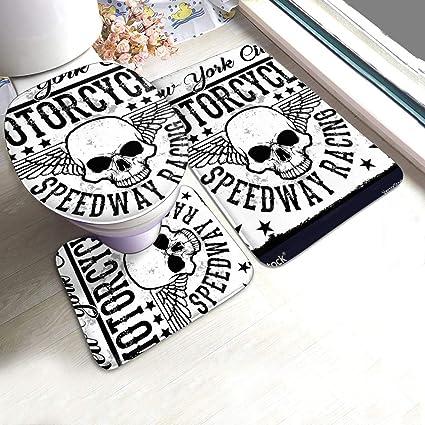acheter tapis de bain tete de mort online 7