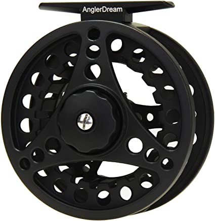 AnglerDream 1//2 3//4 5//6 7//8WT Fly Reel Large Arbor Aluminum Fly Fishing Reels