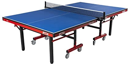 STAG 1000DX INTERNATIONAL DELUXE TABLE TENNIS TABLE Top Thickness 25 Mm  With Net Set, Table