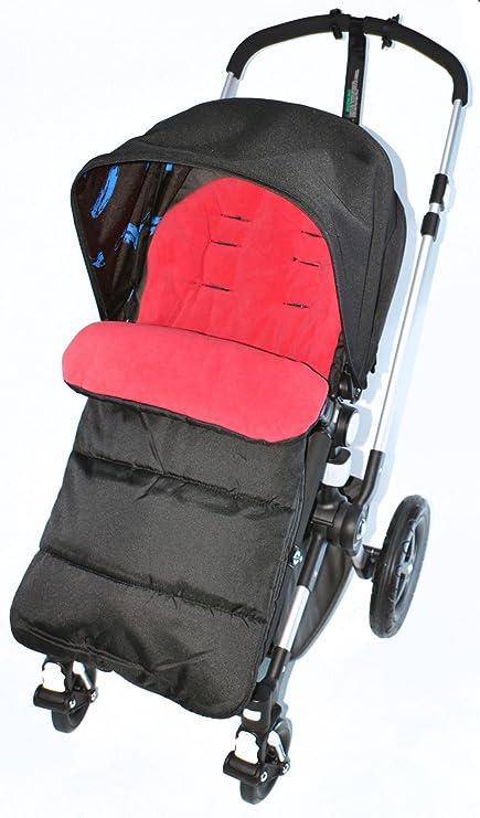 Saco/Cosy Toes Compatible con Bebecar carrito, color rojo