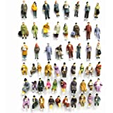 Evemodel P8702 108pcs 1:87 Well Painted Figures Seated Passenger HO Scale