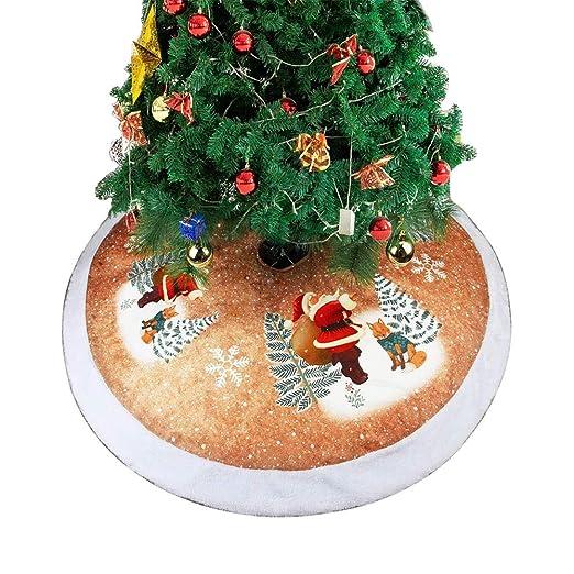 Falda de árbol de Navidad de 39