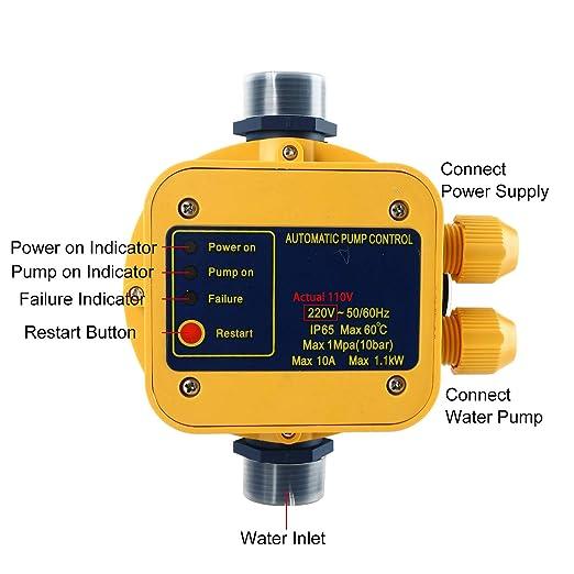 Amazon.com: Homend - Controlador automático de presión de ...