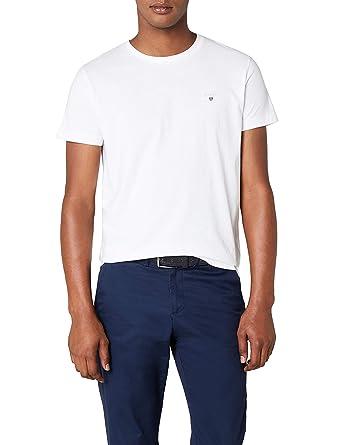 4313789c6ea28a Amazon.com: GANT Men's Cotton Short-Sleeve T-Shirt: Clothing