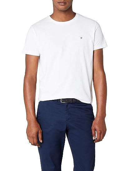 0cd5ac2e5c1c Gant Men's The Original Solid T-Shirt: Amazon.co.uk: Clothing