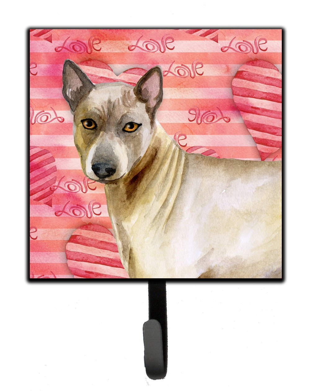Caroline's Treasures Thai Ridgeback Love Wall Hook, Small, Multicolor by Caroline's Treasures