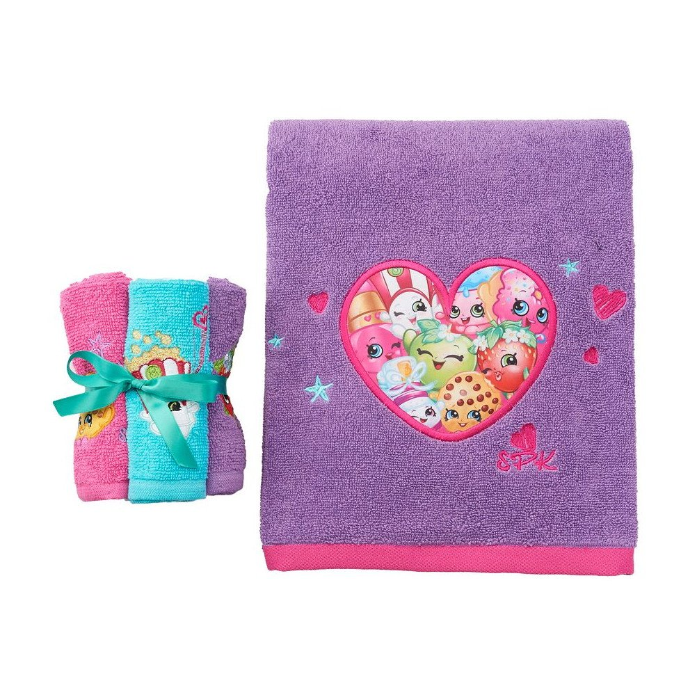Shopkins Bath Towel Collection