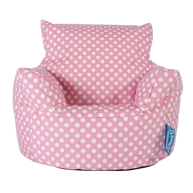 Lounge Pug Kindersessel Sitzsack Sitzsack Kinder Druck Pink