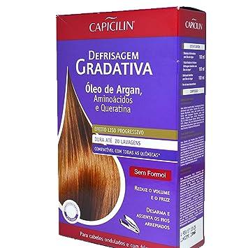 Amazon.com : Linha Defrizagem Gradativa Capicilin - Kit Oleo ...