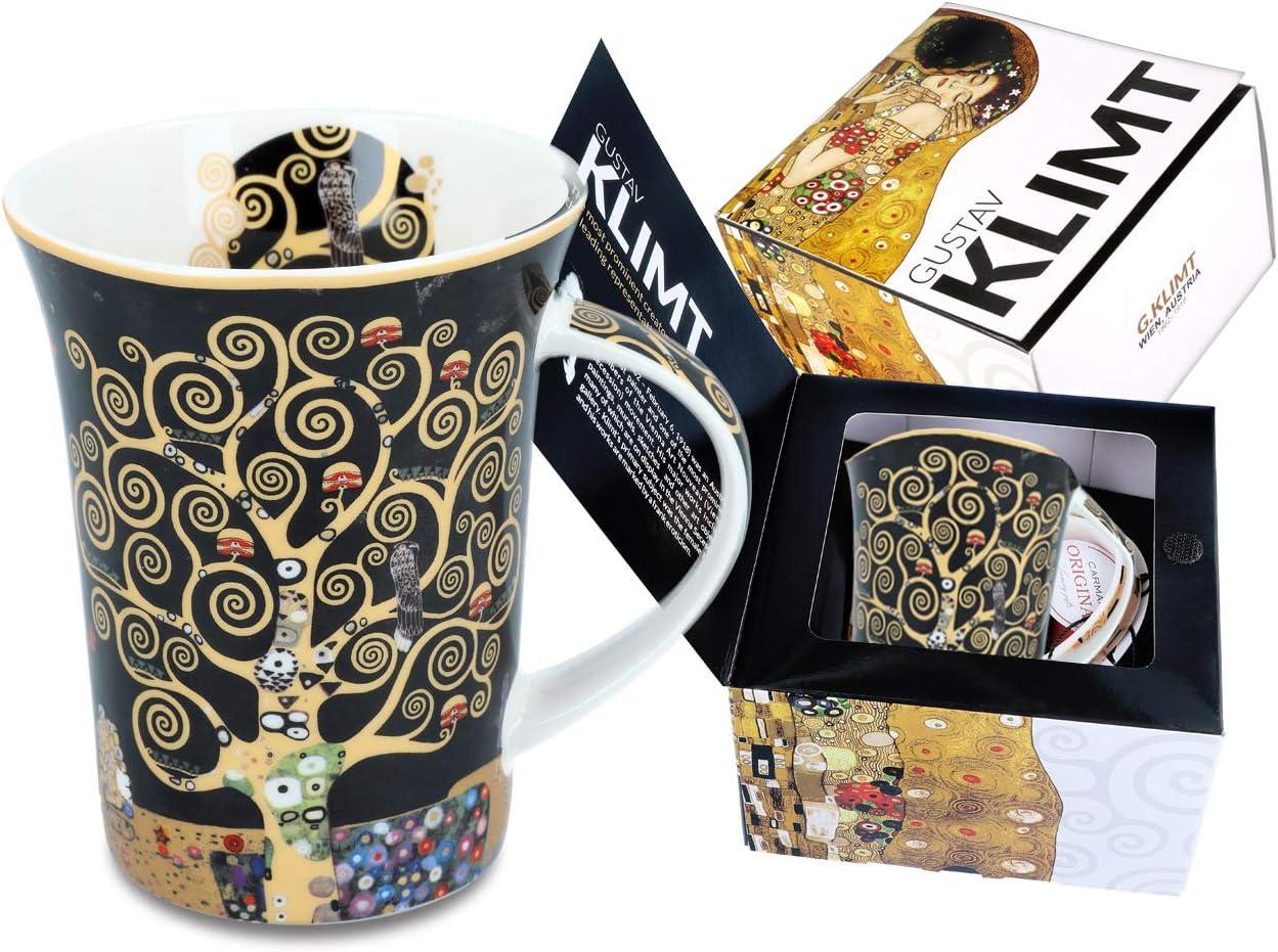 Kaffeeetasse Teetasse Becher Tasse Baum des Lebens 450 ml