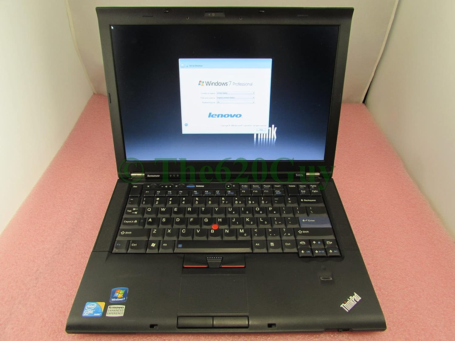 Lenovo ThinkPad T410s Laptop 14.1 Core i5 2.4GHz 128GB SSD 4GB DVDRW NVIDIA Thin