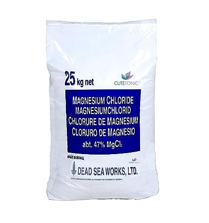 Cutetonic® Hojas de cloruro de magnesio ultra puro, origen del mar muerto (25KG