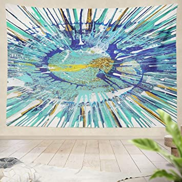 Amazon Com Summor Tapestry Abstract Expressionism Painting