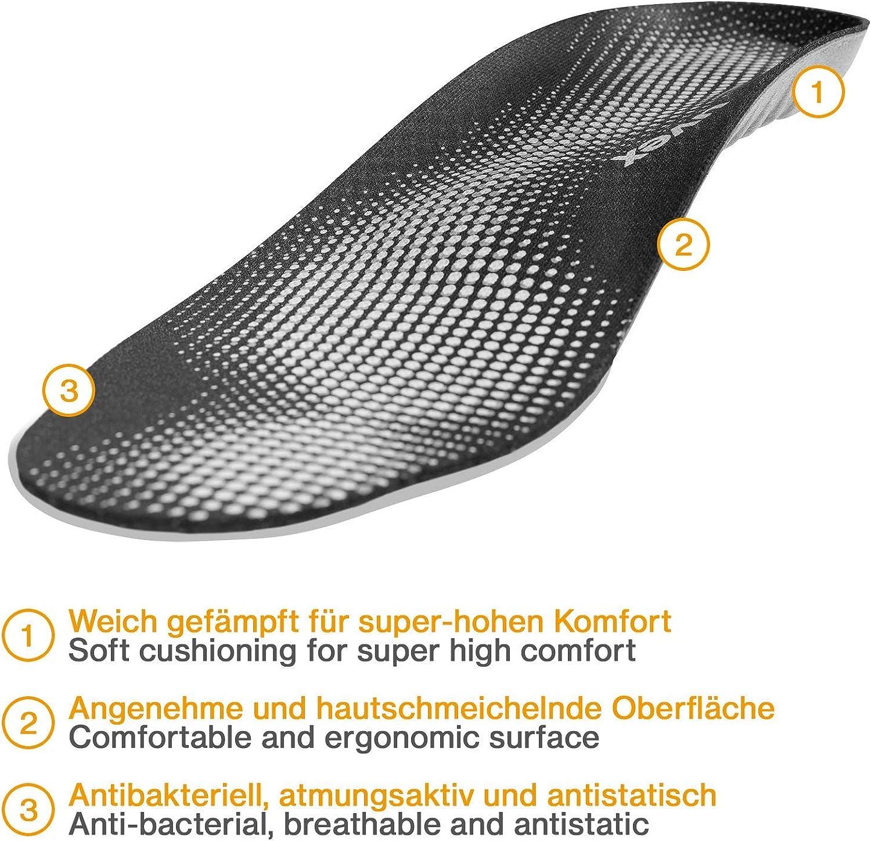Confort Semelles de Chaussures de Travail Uvex Tune-Up