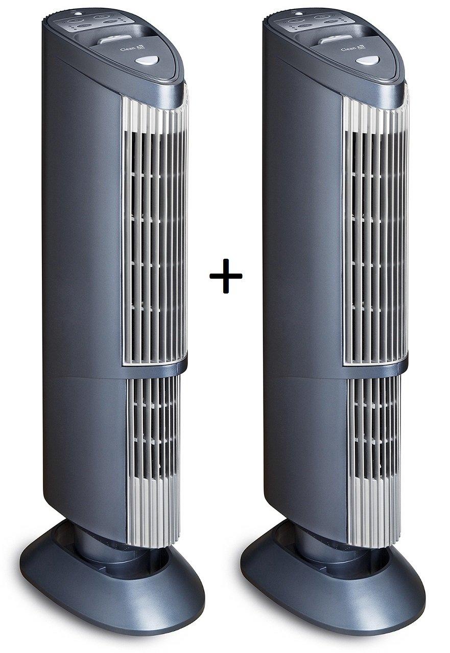 Remplacement du filtre superflu! 5 techniques de purification 2x Purificateur dair avec ioniseur UV plasma CA-401 Purificateur dair professionnel