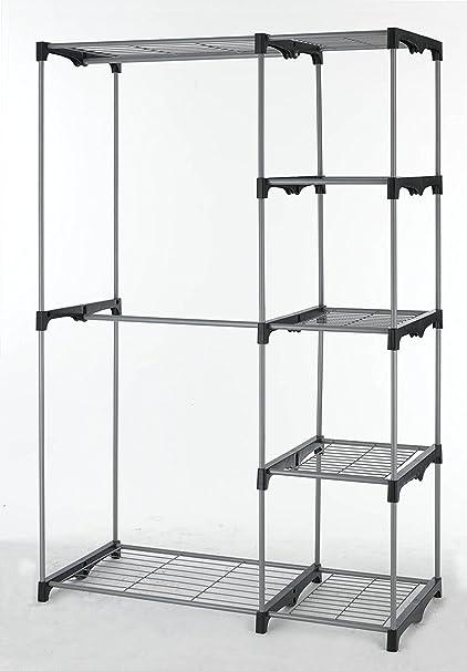 metal heavy portable rack duty closet
