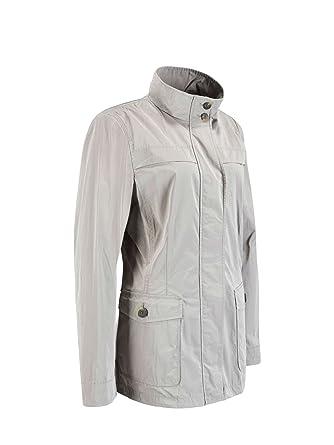 Jacket Gris Geox Para 42 Chaqueta Woman Mujer Grey sesame F1400 SqwBw4FZd