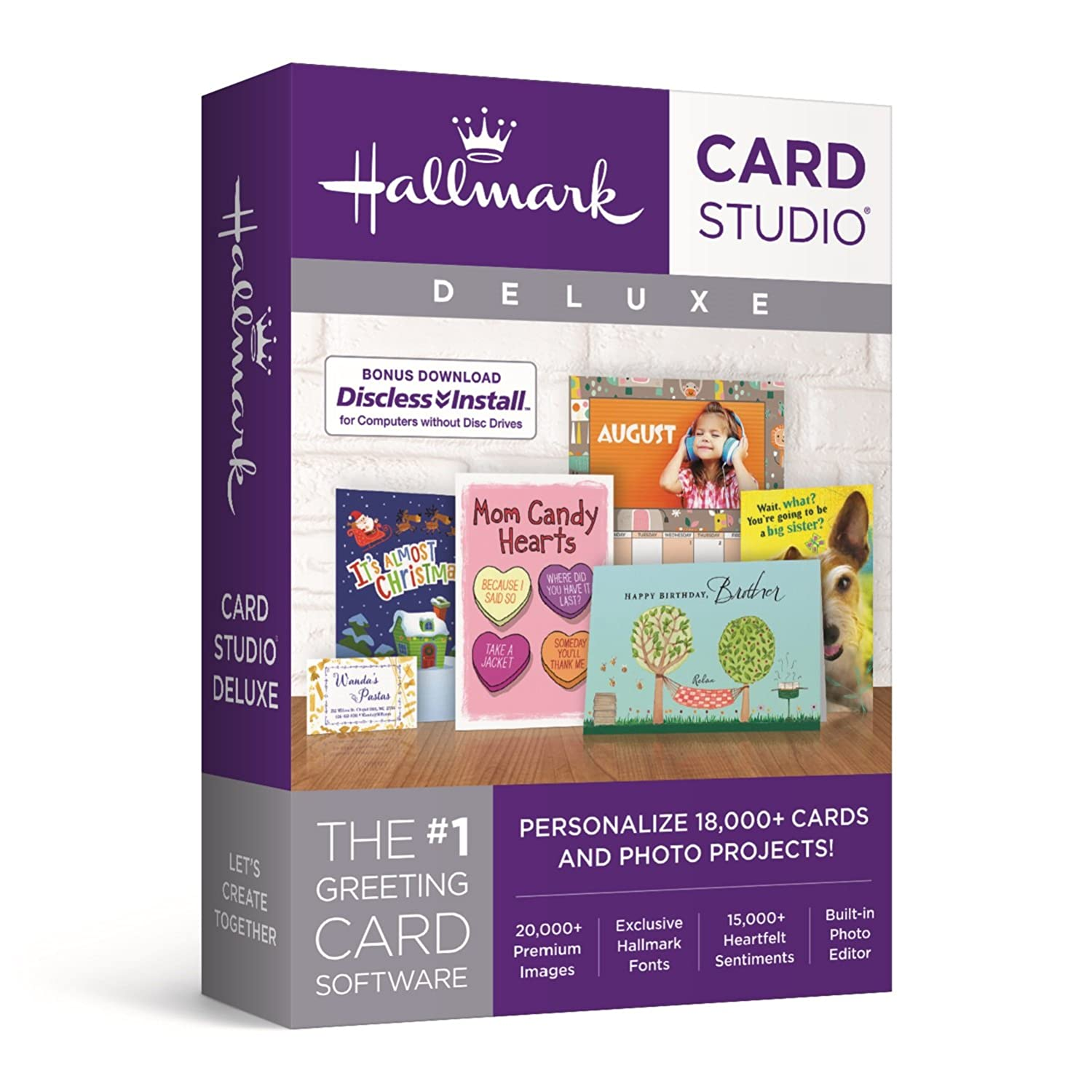Amazon Hallmark Card Studio Deluxe 2018