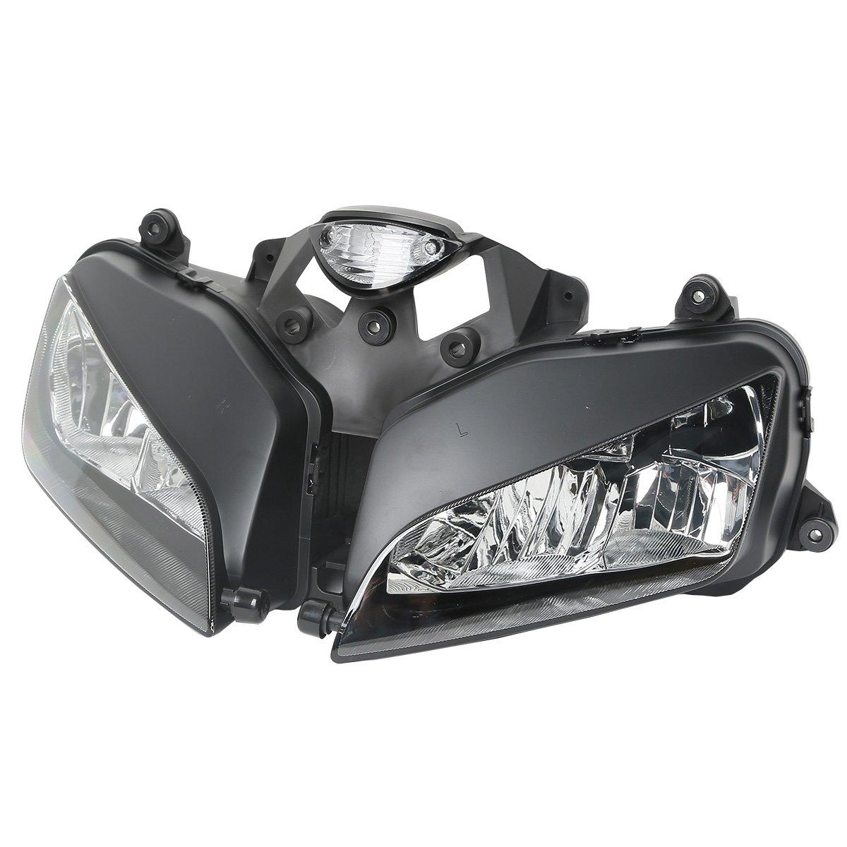 XFMT Motorcycle Headlight Front Light Lamp Assembly For HONDA CBR 600RR CBR600RR 2003-2006