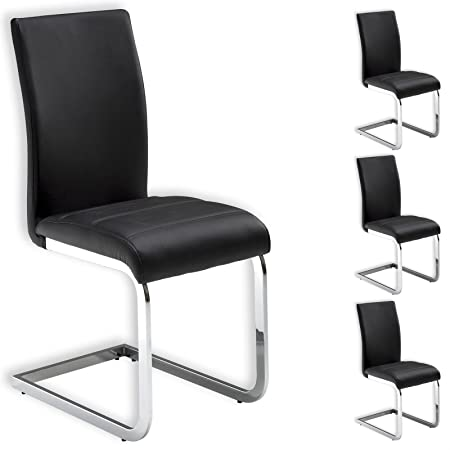 Schwingstuhl schwarz