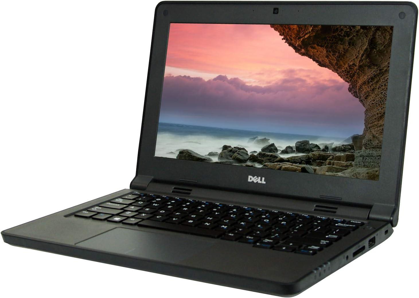 Dell Latitude 3150 11.6 HD Laptop, Celeron N2840 2.16GHz, 4GB, 128GB Solid State Drive, Windows 10 Pro 64Bit, CAM, (Renewed)