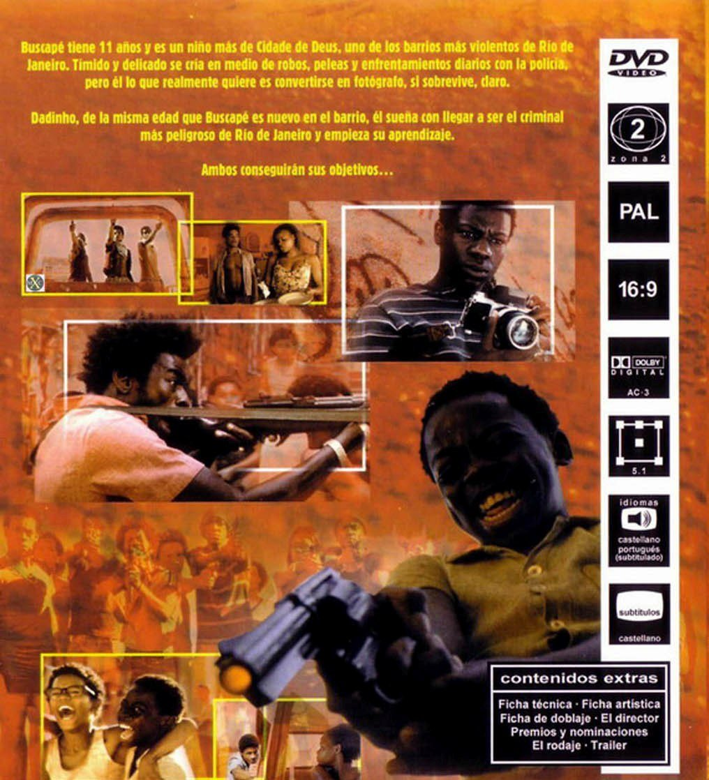 87f4cb650a6 Ciudad De Dios  DVD   Amazon.es  Matheus Nachtergaele
