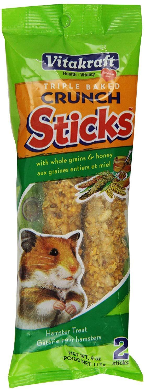 VITAKRAFT Hamster Honey Stix 2pk See Through Packaging