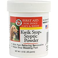 Kwik-Stop Styptic Powder 1.5 Ounce