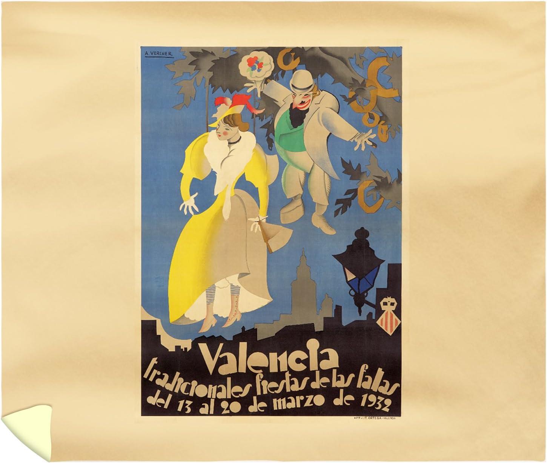 España – Valencia – Fiestas de las Fallas – (artista: Vercher ...
